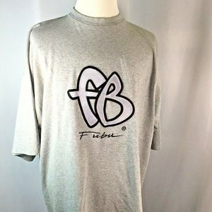 FUBU~The Collection~Vintage~Embroidered Logo~S/S